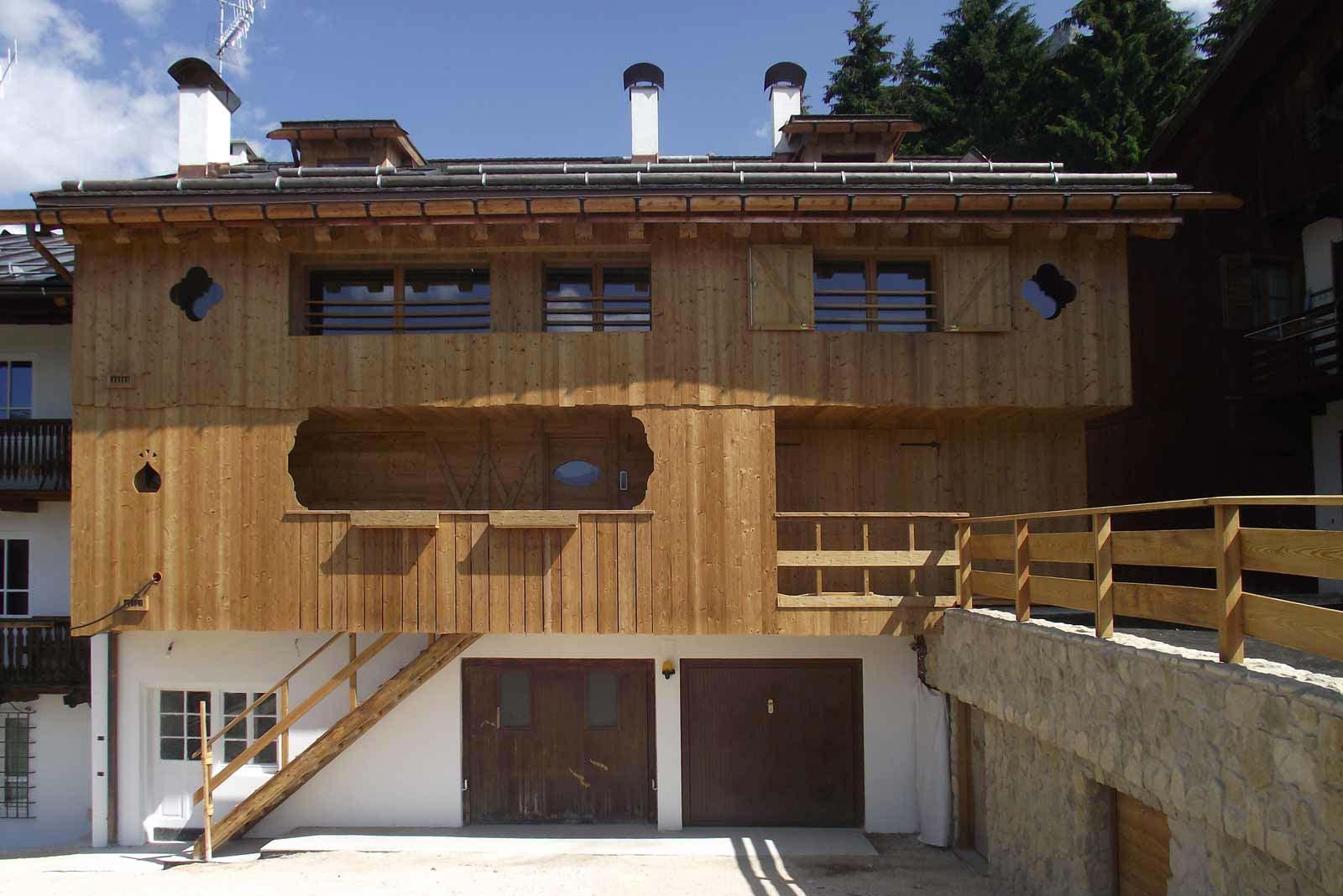 Architettura in legno Woodbau Longarone