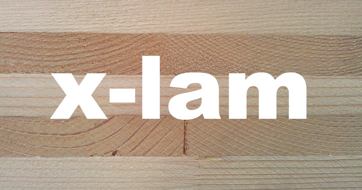 Pannello X-LAM Woodbau