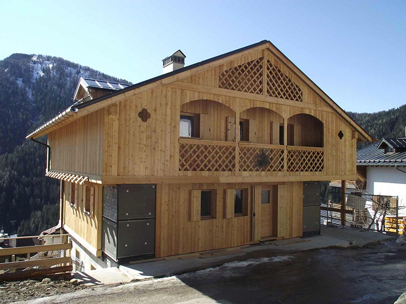 Casa in provincia di Venezia Woodbau Longarone