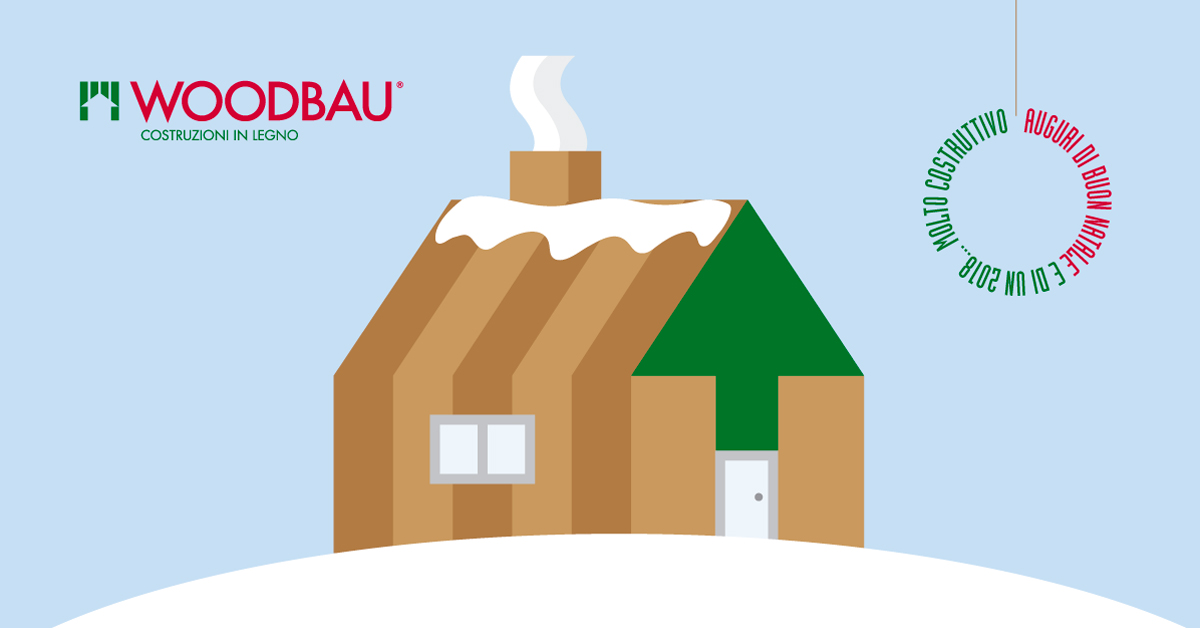 Auguri di Natale Woodbau Longarone