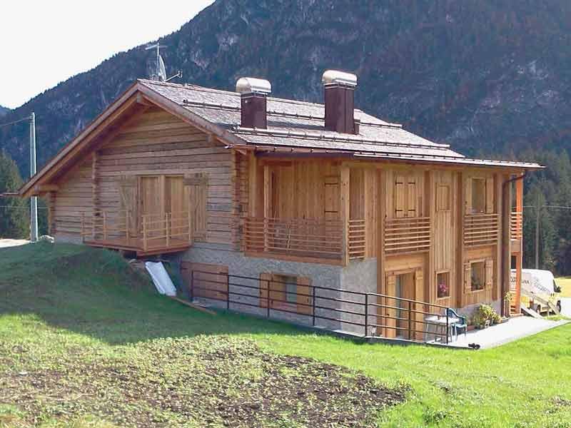 Casa in legno Auronzo di Cadore Belluno Woodbau