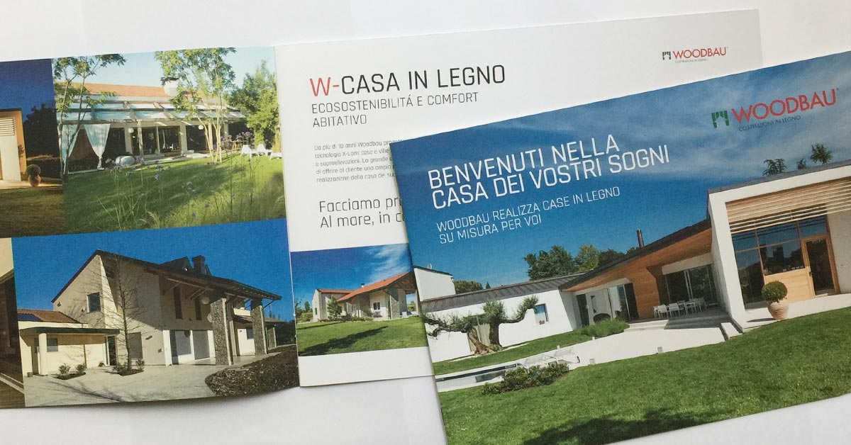 Brochure Woodbau Longarone, Belluno