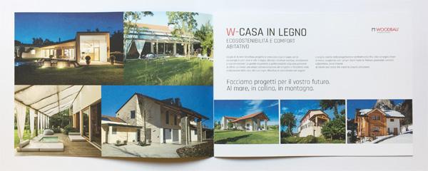 Brochure Woodbau Longarone, Belluno