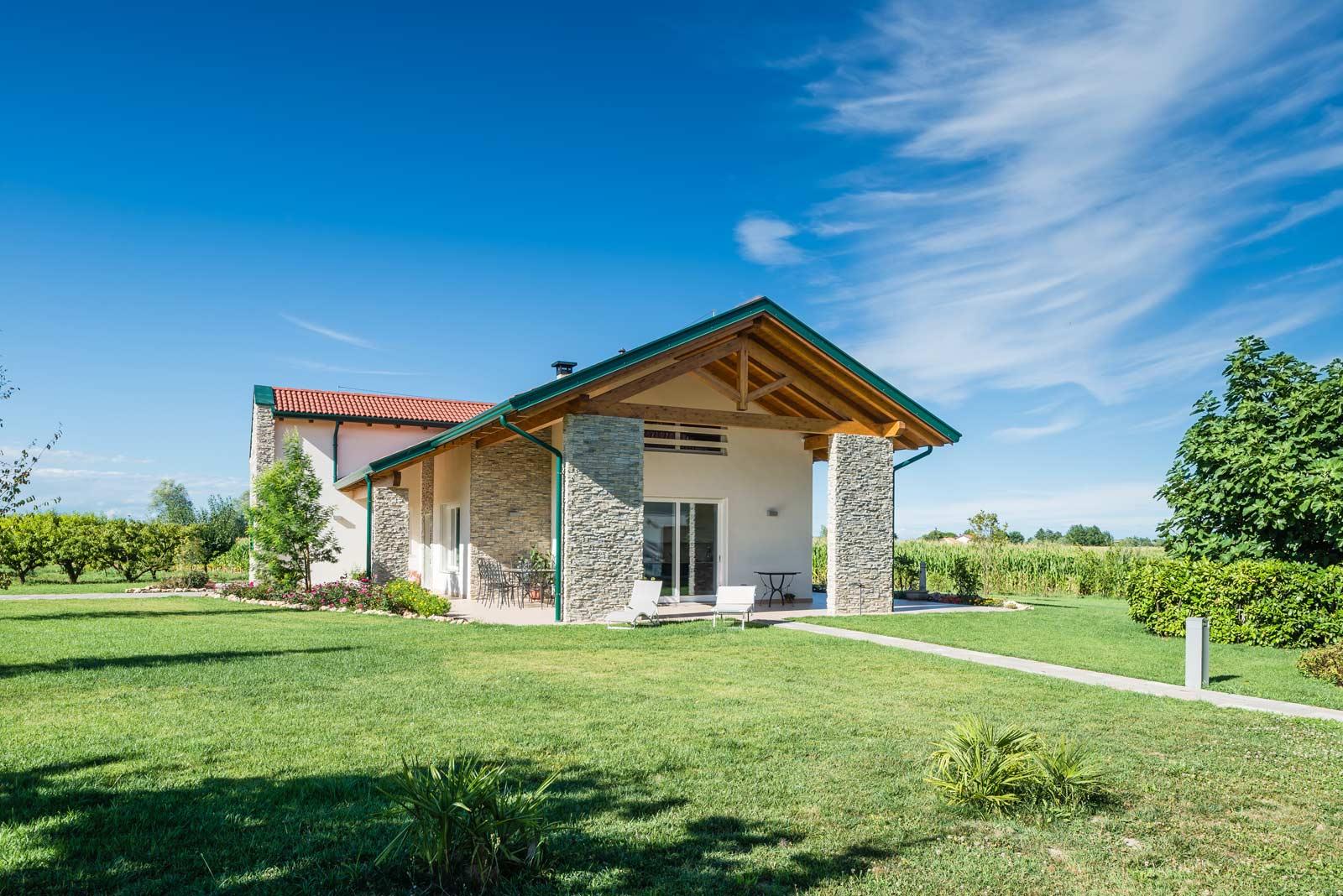 Realizzazione casa al mare Woodbau