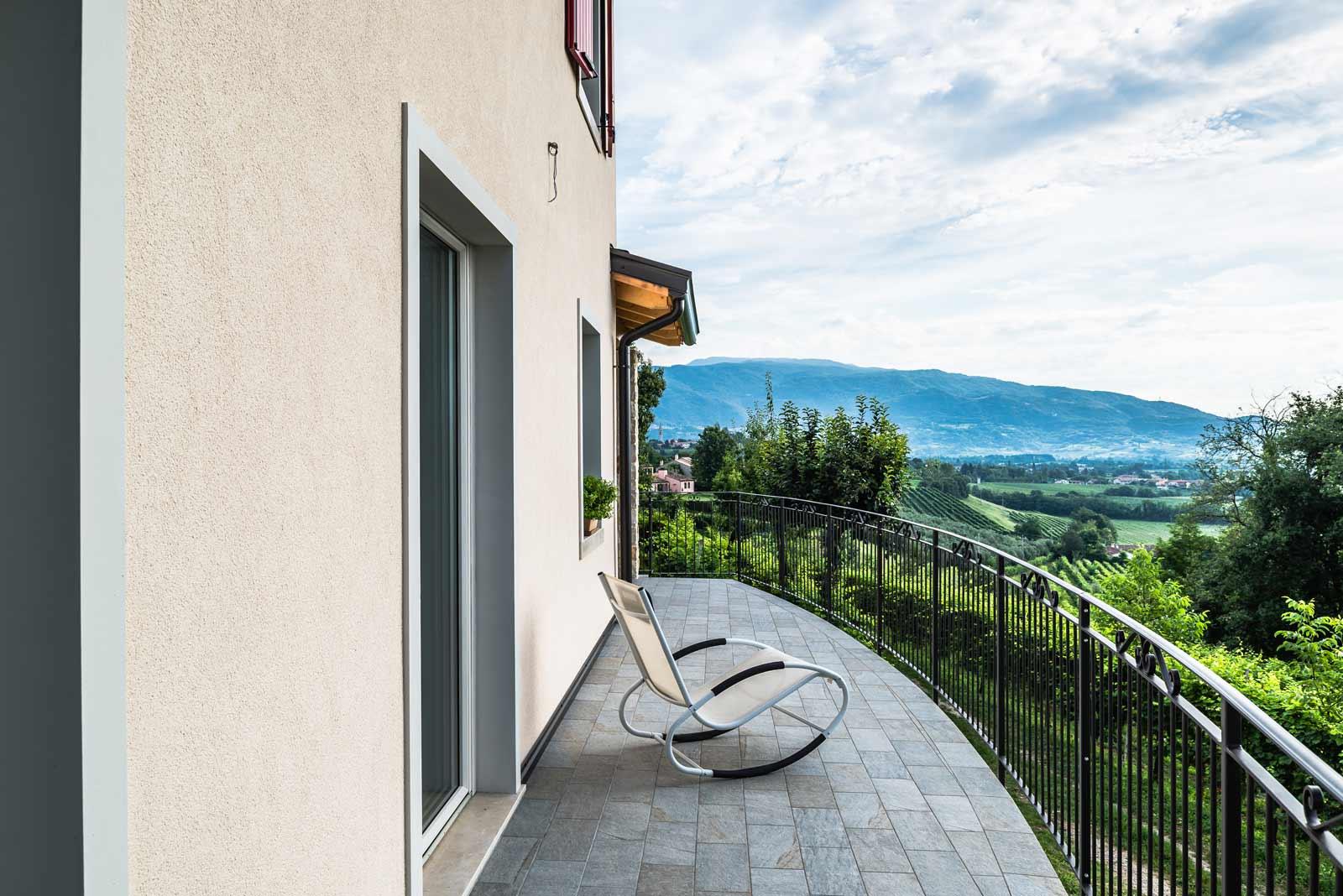 Casa in collina provincia di Treviso Woodbau Longarone