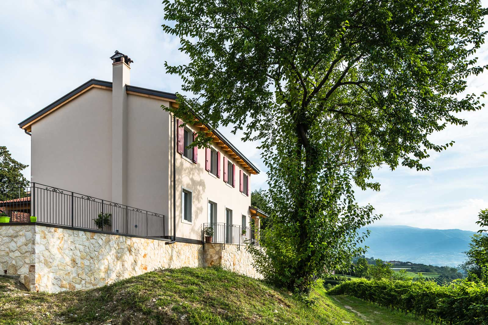Casa in collina Woodbau Longarone