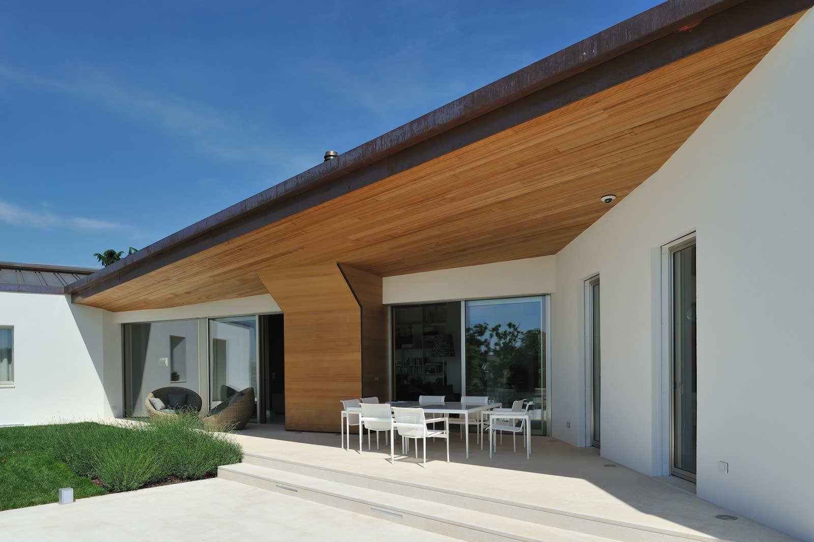 Casa moderna Woodbau a Treviso