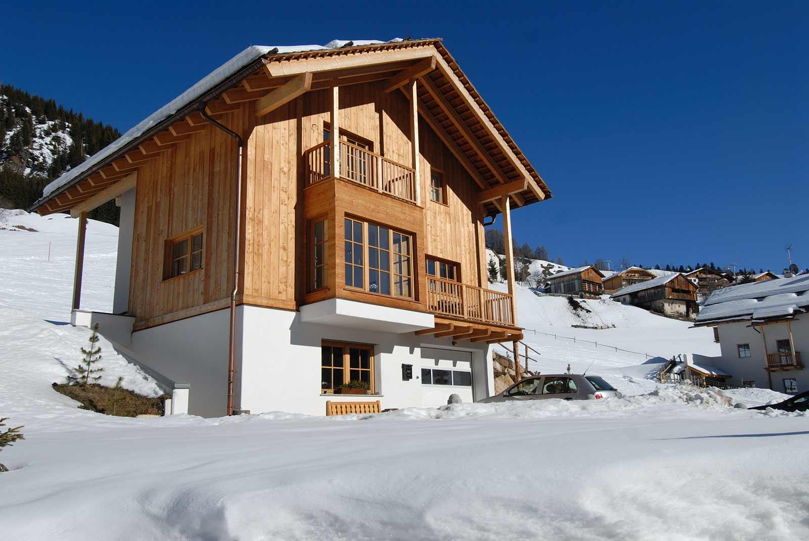 Casa a Corvara realizzazione Woodbau Longarone