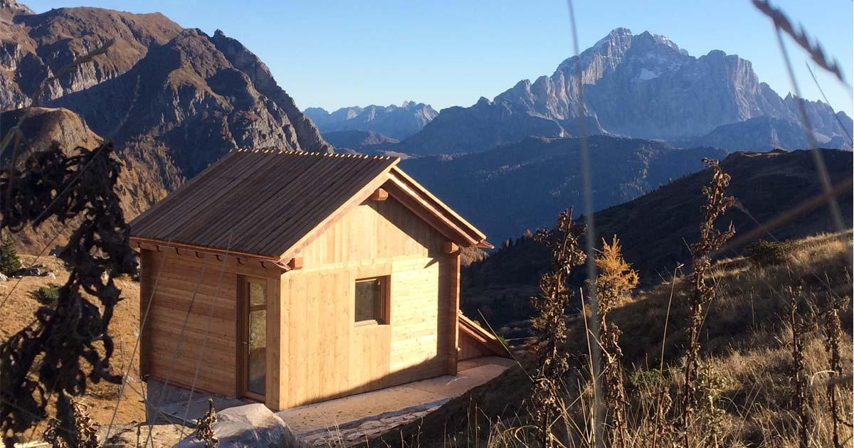 Casa in legno a Cortina Woodbau