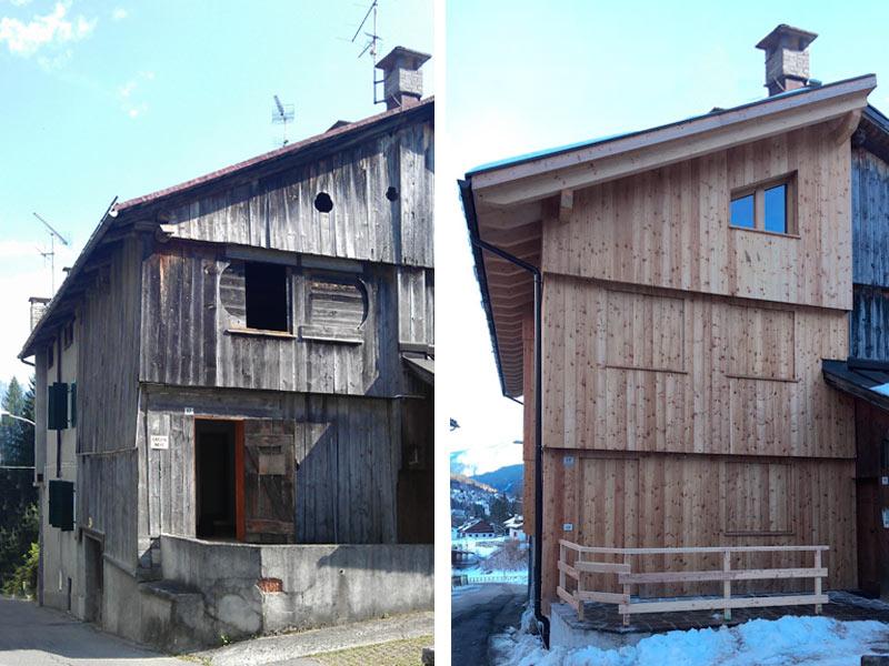Demolizione e ricostruzione Woodbau