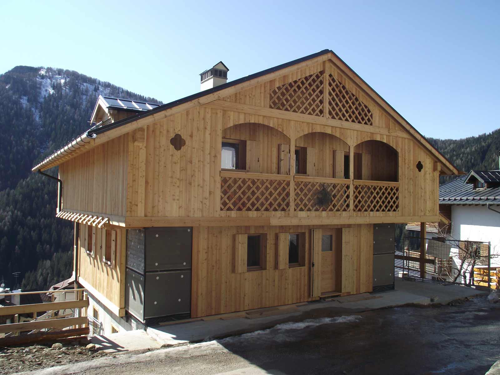 Abitazione in legno di larice Woodbau Longarone