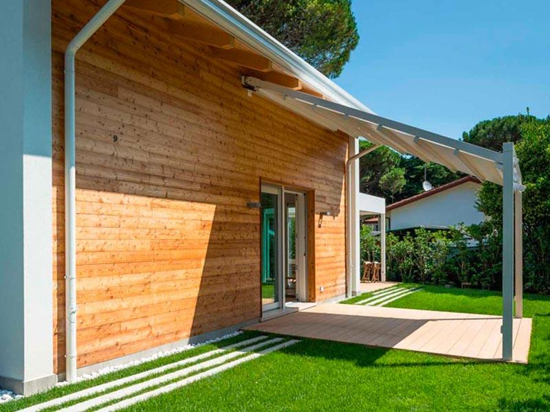 Villa al mare Woodbau Longarone