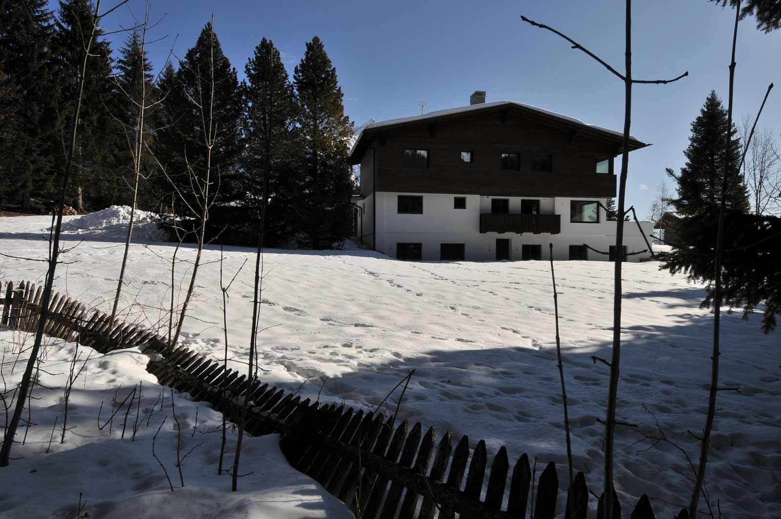 Sopraelevazione casa a Cortina d'Ampezzo Woodbau