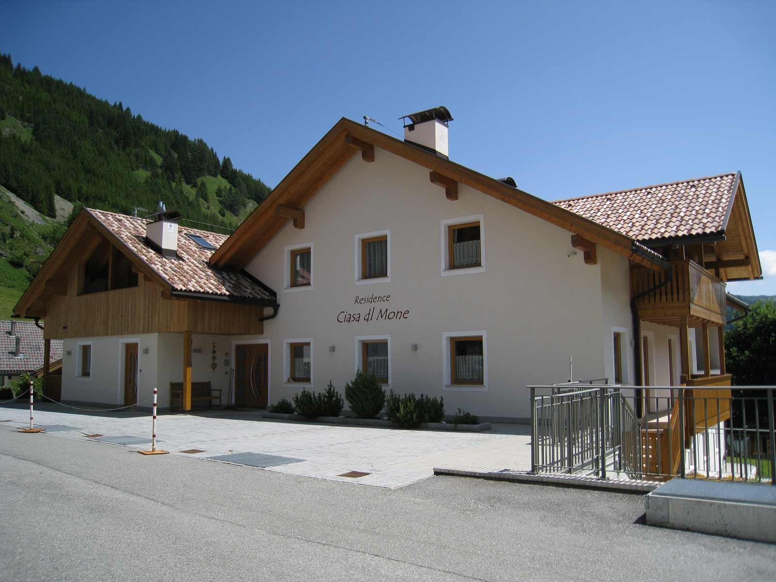 Residence a Corvara Woodbau Longarone