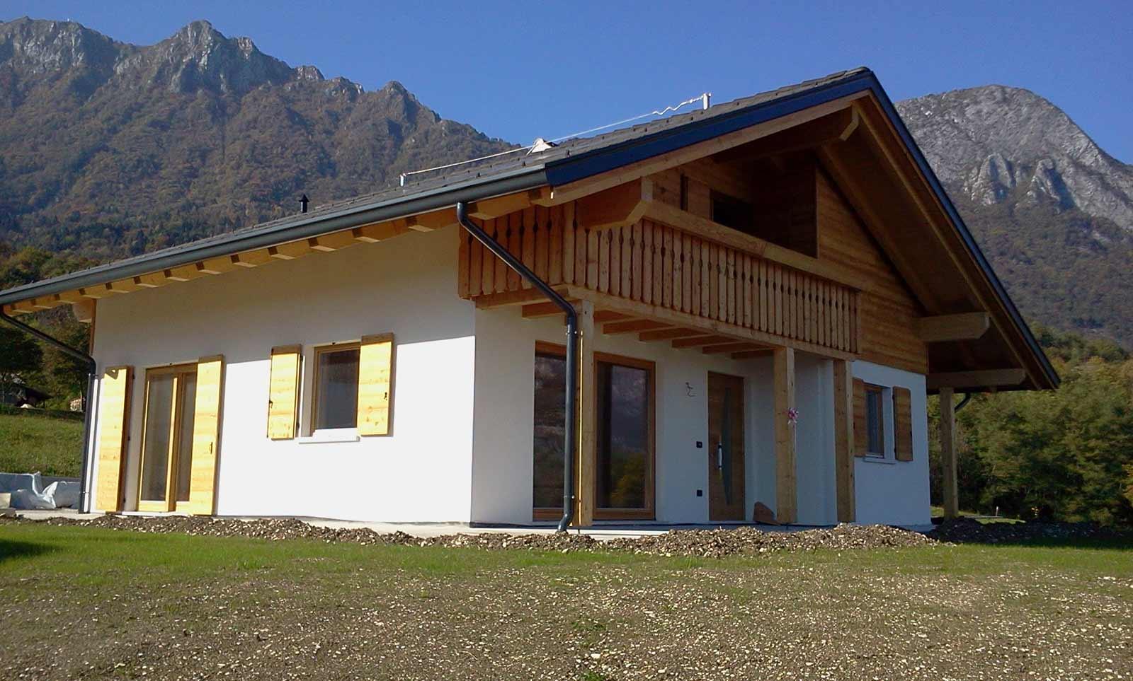 Casa nella Valbelluna Woodbau Longarone