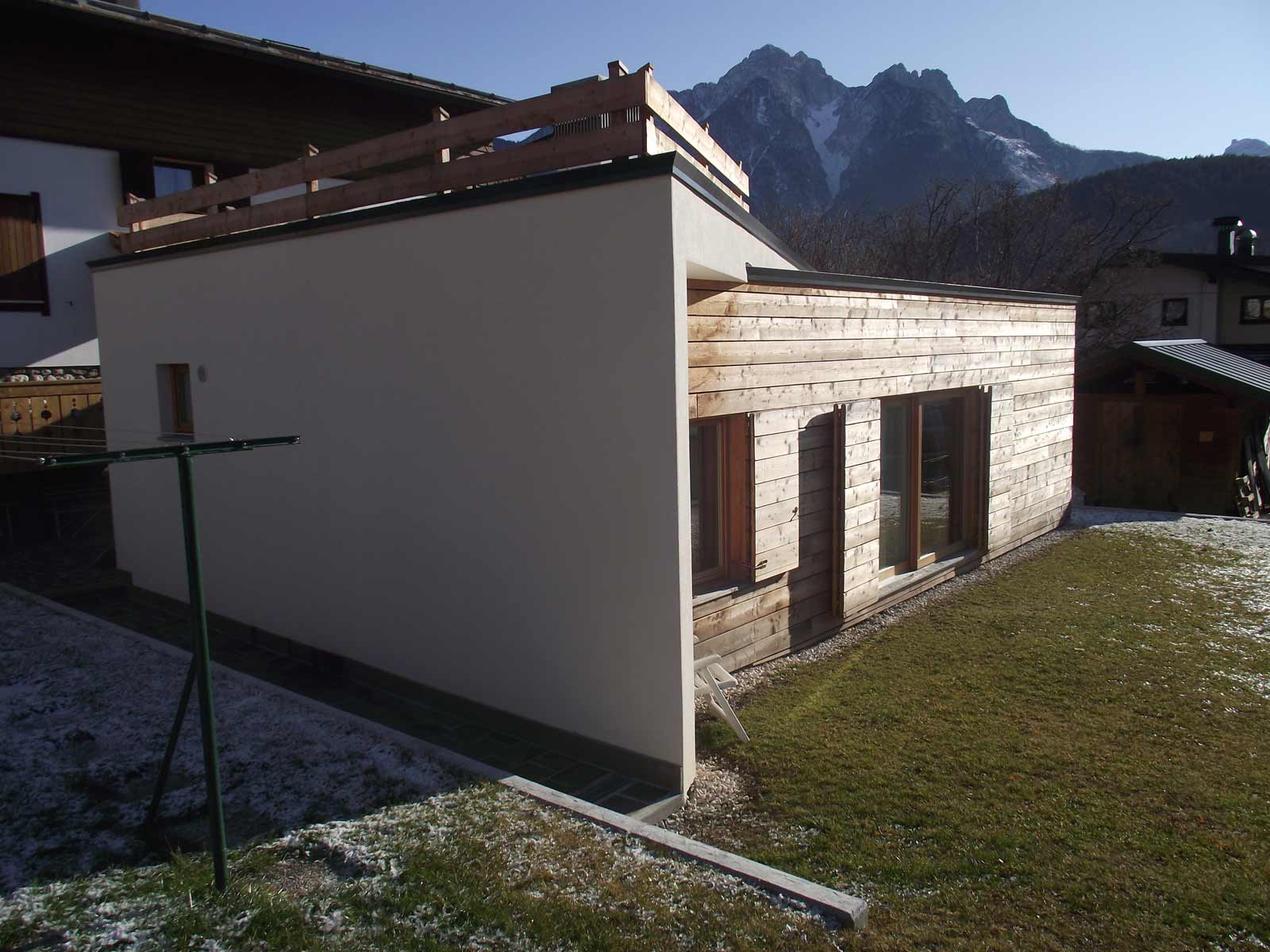Ampliamenti ad efficienza energetica Woodbau Longarone