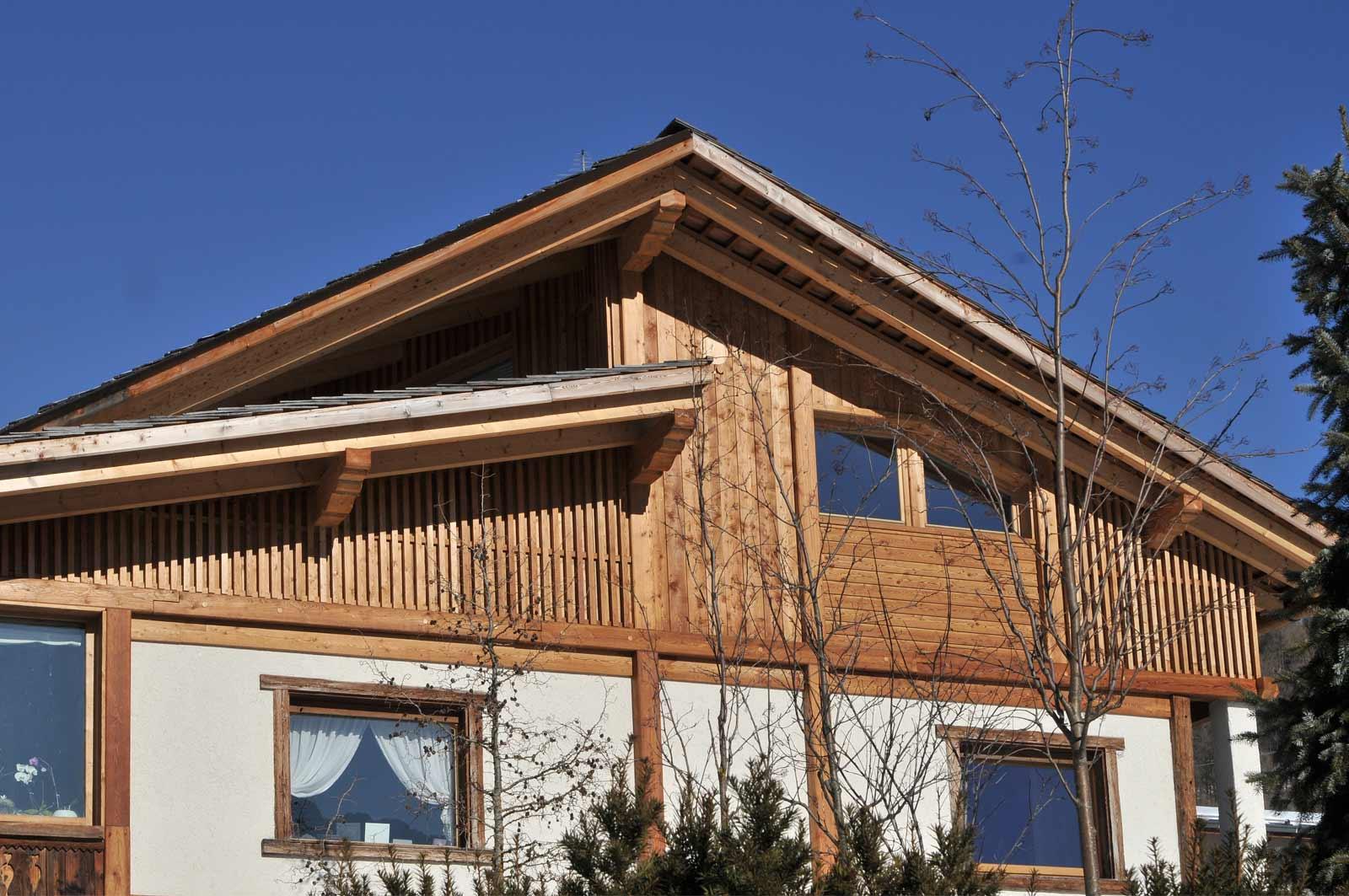 Soprelevazione in legno Woodbau Longarone