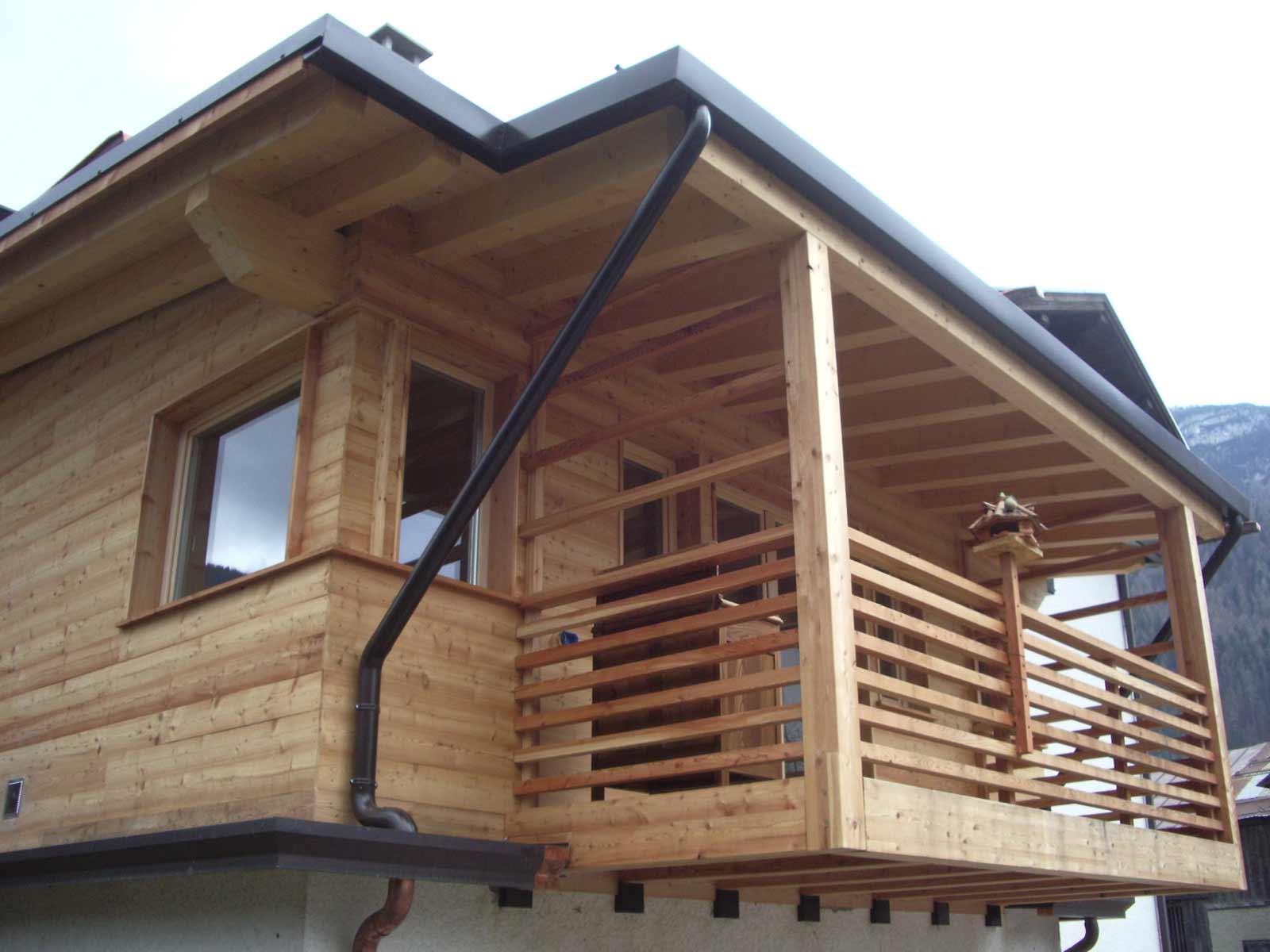 Ampliamento casa Woodbau Longarone