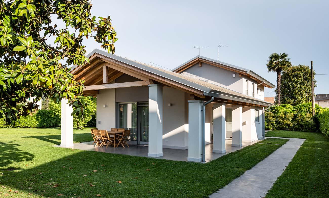 Realizzazioni case in legno Woodbau Longarone
