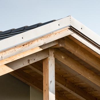 Costruire il tetto Woodbau Longarone