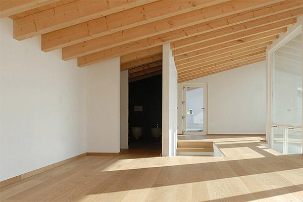 Tetto in legno Woodbau Longarone
