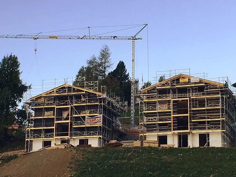 Edifici in Svizzera Woodbau Longarone