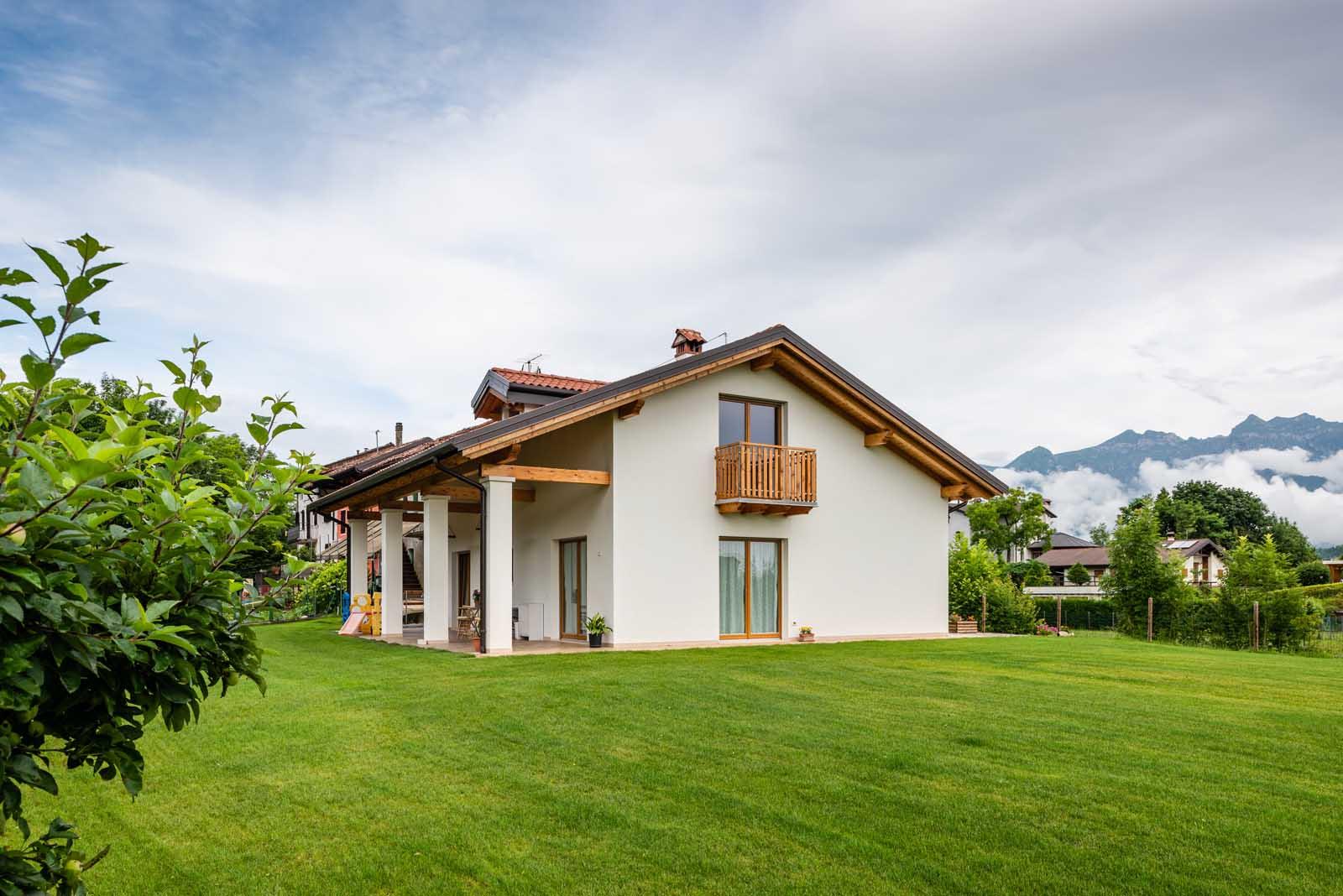 Casa in legno Woodbau