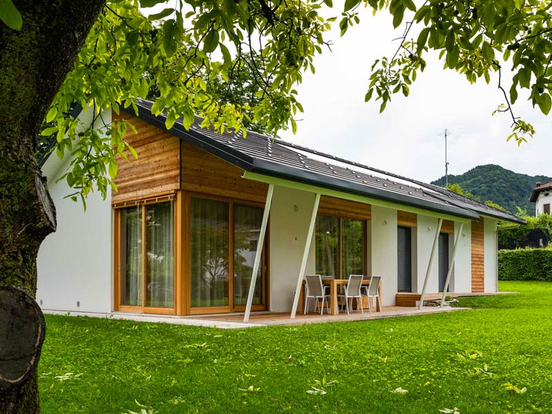 Abitazione in legno Woodbau