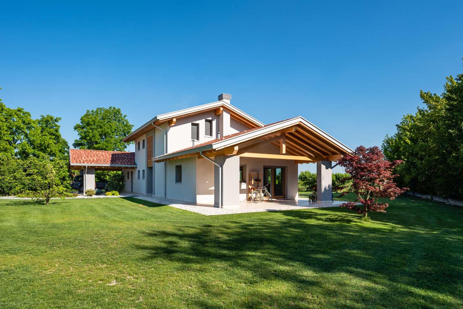 Villa ecosostenibile Woodbau