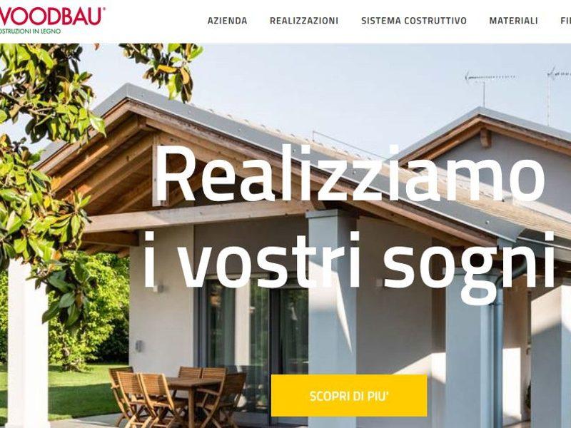 E' online il nuovo sito Woodbau - Longarone