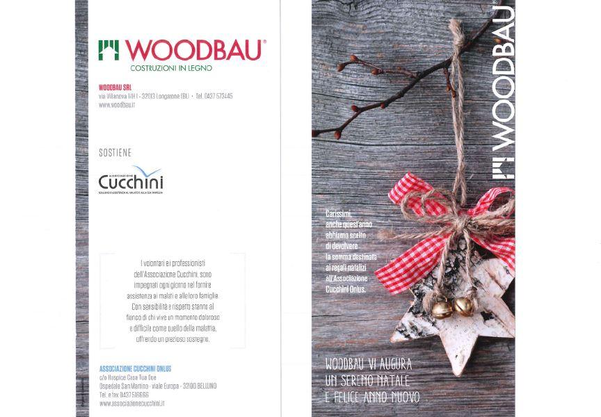 Auguri Natale - Woodbau Longarone Belluno