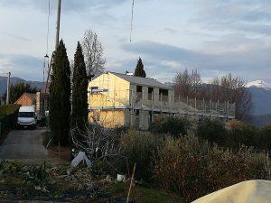 Casa in legno ecosostenibile in zona collinare - Woodbau Longarone Belluno